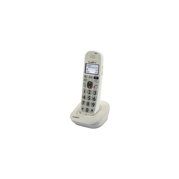 Clarity D704HS Caller ID Extra Amplified Handset & Charger DECT 6.0 1.9GHz NEW!