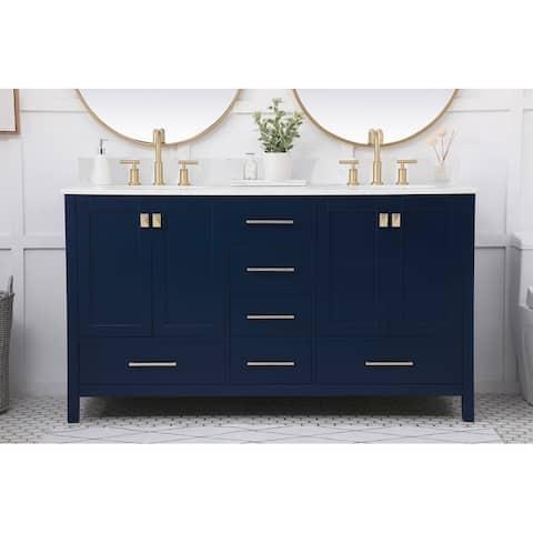 Ilya 60-inch Double Bathroom Vanity