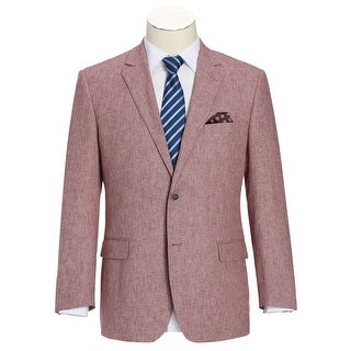 Link to Men's Classic Fit Blazer Linen Cotton Sport Coat Similar Items in Sportcoats & Blazers