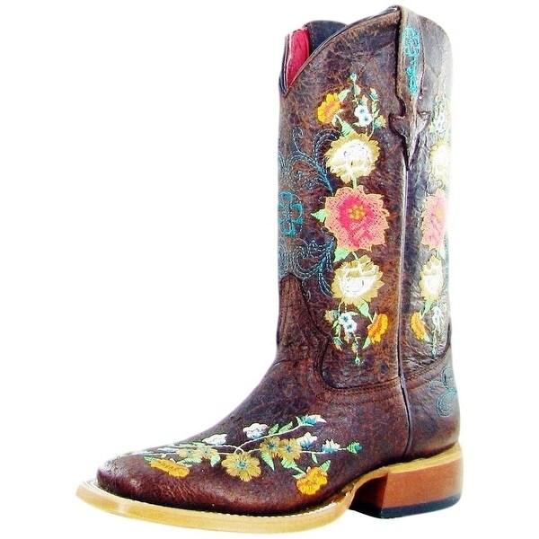 Macie Bean Western Boots Girls Cowboy Floral Sweet Sixteen