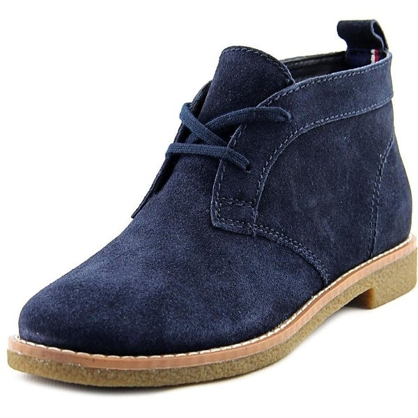 8793a6a9e Tommy Hilfiger Womens Blaze Leather Closed Toe Ankle Fashion Boots - 7.5