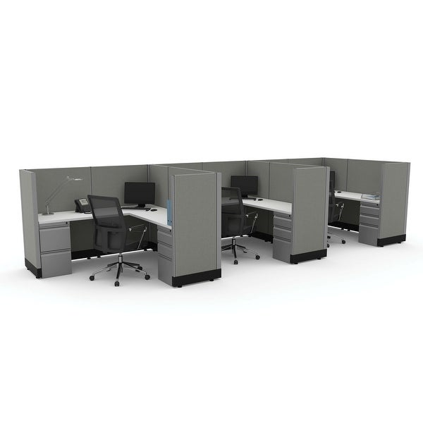 Workstation Desk 53H 3pack Inline Unpowered. Opens flyout.