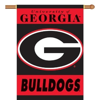 University of Georgia Bulldogs 2-Sided House Flag/Banner