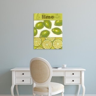 Easy Art Prints Norman Wyatt's 'Lime' Premium Canvas Art