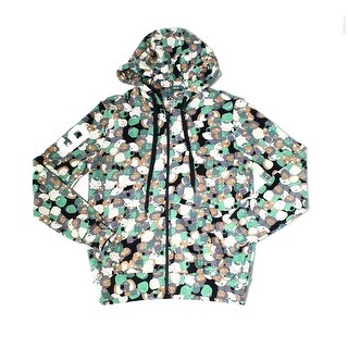 Eleven Paris NEW Green Mens Small S Full Zip Family Guy Printed Sweater