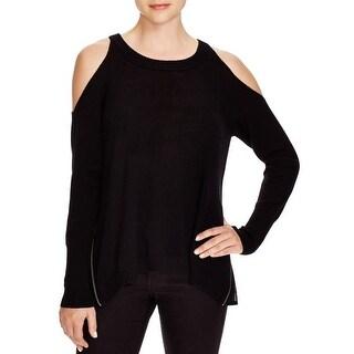 Ramy Brook Womens Tasha Pullover Sweater Merino Wool Silk
