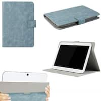 "JAVOedge Blue Vintage Pattern Universal Book Case for 9-10"" Tablets, iPad Air, Samsung Note, Nook HD 9, Nexus 10 + More"
