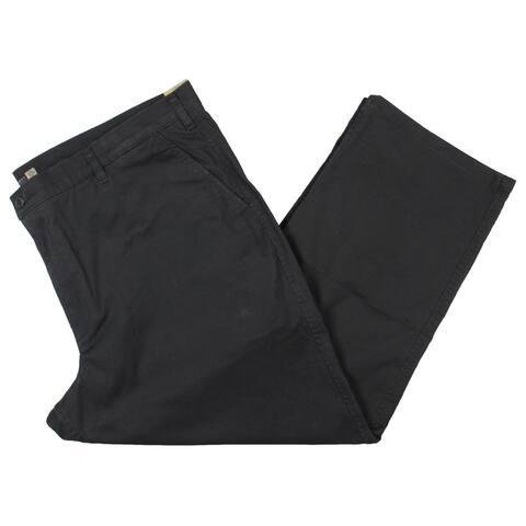 Dockers Mens Big & Tall Khaki Pants Classic Fit Chino - Gray