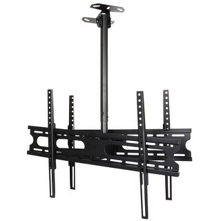 """MegaMounts Tilt and Swivel Ceiling Mount for two 37""""- 70"""" LCD, LED, and Plasma Screens"""