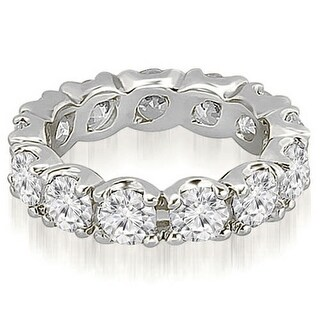 4.25 ct.tw 14K White Gold Round Diamond Eternity Ring