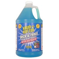 Krud Kutter DF01/4 Pressure Washer Concentrate Deck & Fence Cleaner, 1 Gallon