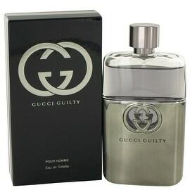 Gucci Guilty by Gucci Eau De Toilette Spray 3 oz - Men
