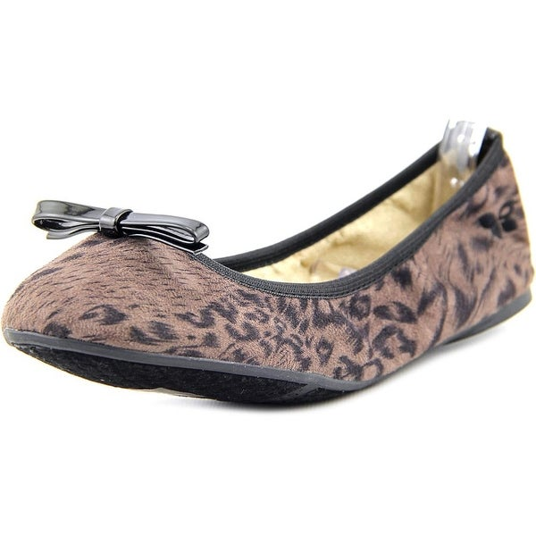 Butterfly Twists Tara Women Round Toe Suede Brown Ballet Flats