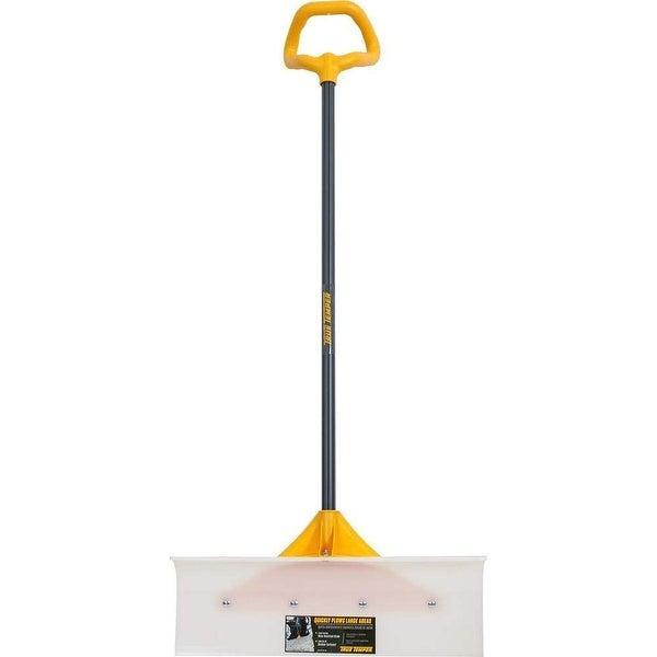 "True Temper 1662400 Industrial Grade Snow Pusher with Versa Grip, 24"""