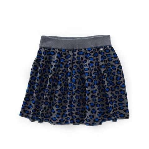 Aeropostale Womens Leopard Print Knit Mini Skirt