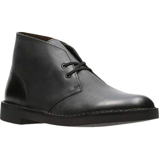 d3c0f5e94e9 Shop Clarks Men's Bushacre 2 Boot Black Waxy Leather - On Sale ...