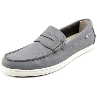 Cole Haan Pinch LTE Men Round Toe Leather Gray Loafer