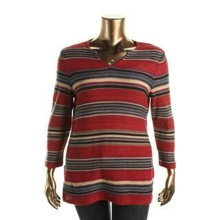 LRL Lauren Jeans Co. Womens Pullover Sweater Linen Blend Striped|https://ak1.ostkcdn.com/images/products/is/images/direct/3f4e0396250c381d02a0216d1de4e750499bed61/LRL-Lauren-Jeans-Co.-Womens-Linen-Blend-Striped-Pullover-Sweater.jpg?impolicy=medium