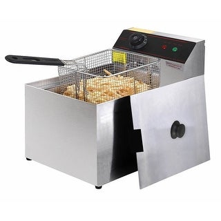 Gymax Deep Fryer Electric Commercial Tabletop