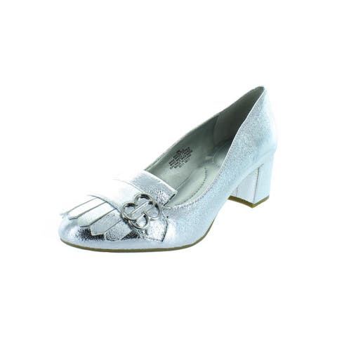 d9b7596af7d5 Bandolino Womens Olale Pumps Metallic Dress