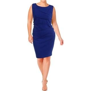 Calvin Klein Womens Wear to Work Dress Sleeveless A-Line