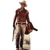 74 in. x 26 in. John Wayne Cardboard Standee Standup Cutout Movie