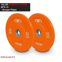 Valor Fitness BPX-15 Bumper Plate X 10 lbs - Set of 2