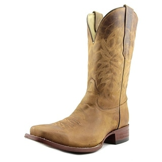 Corral A2917 Men Square Toe Leather Brown Western Boot