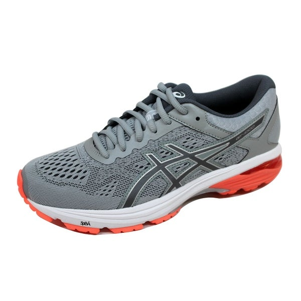 Asics Women's GT 1000 6 Mid Grey/Carbon-Flash Coral T7A9N 9697