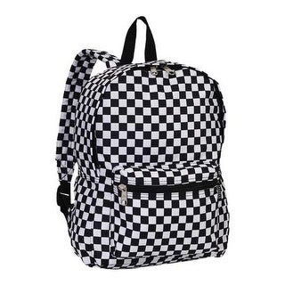 Everest Pattern Backpack (Set of 2) Checkered - us one size (size none)