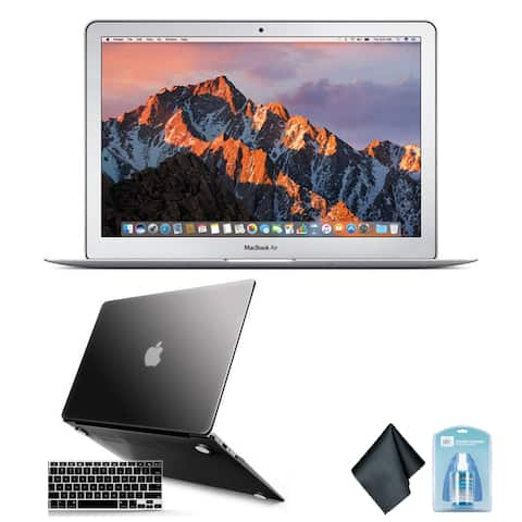 Apple 13 Inch MacBook Air Laptop Computer (Mid 2017 Version, Silver)