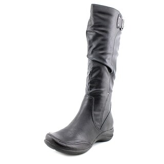 Hush Puppies Alternative_18BT Round Toe Synthetic Knee High Boot