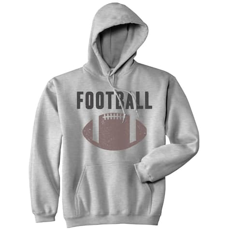 Vintage Football Sweater Cool Sports Funny Graphic Novelty Shirts for Men Hoodie