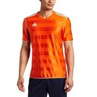 93aaed402 Adidas Boys Tabela 11 Jersey T-Shirt Orange/White Size Youth - Orange