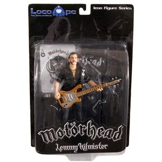 "Motorhead Lemmy Kilmister 7"" Icon Figure Rickenbacker Guitar Cross"