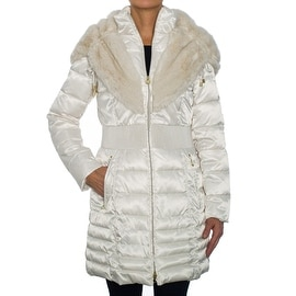 Laundry by Shelli Segal Coat with Faux Fur