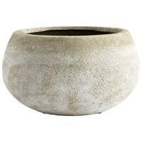 Cyan Design Small Round Stoney Planter Stoney 4.75 Inch Tall Terracotta Planter - N/A