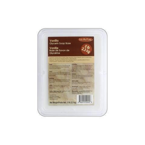 Life/Party Soap Base Glycerin 5lb Vanilla