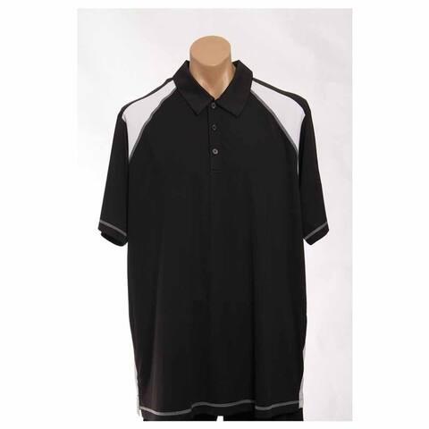 Adidas Mens Golf Adizero Mesh Back Golf Athletic Polo