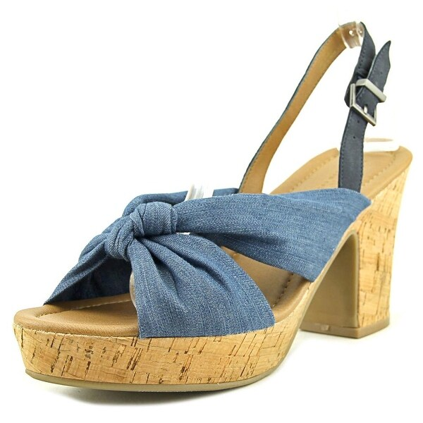 Kenneth Cole Reaction Tole Booth Women Blue Sandals