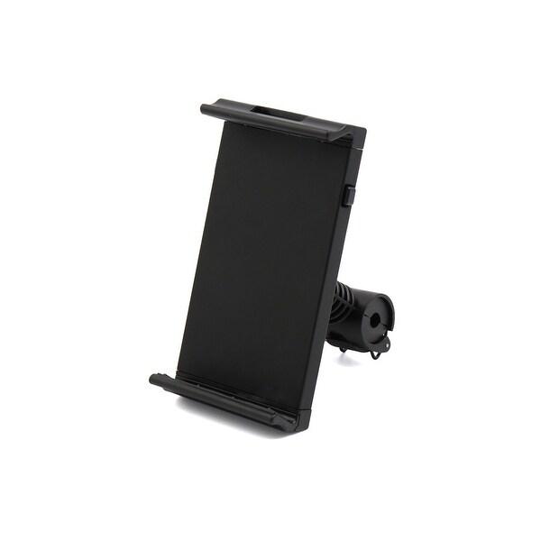Car 360 Degree Adjustable Black Plastic Seatback Tablet PC Phone Mount Holder