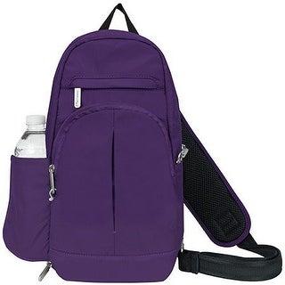 Travelon Anti-Theft Classic Light Sling, Purple