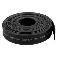 Black 10mm Dia 2:1 Polyolefin Heat Shrink Tubing Shrinkable Tube 5M 16.4Ft