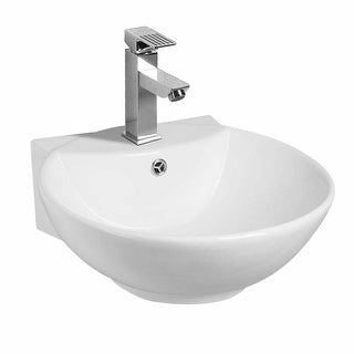 Small Bathroom Sink Vessel White China Wall Mount Renovator's Supply