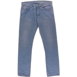 Flying Horse Mens Denim Solid Slim Jeans - 36/34