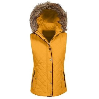 NE PEOPLE Womens Quilted Light Weight Vest Padding Jacket [NEWJ1413]