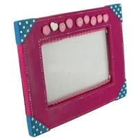 """'I Love My Mommy' 4"""" x 6"""" Pink Picture Frame by Russ Berrie"""