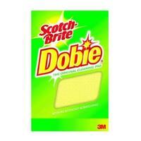 """Scotch-Brite 720 Dobie Cleaning Pad, 3.25"""" x 0.875"""" x 4.875"""""""