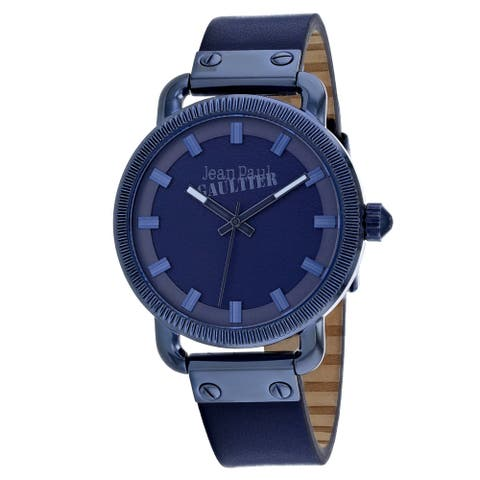 Jean Paul Gaultier Men's Index Blue Dial Watch - 8504408