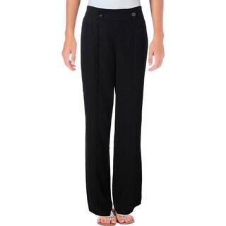 1.State Womens Dress Pants Flare Wide Leg